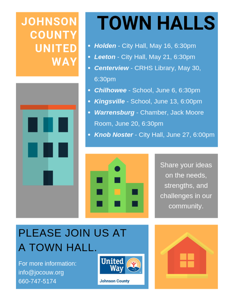 Johnson County United Way Town Hall Meeting
