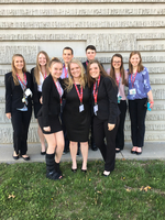 Crest Ridge is REPRESENTING at state FBLA!