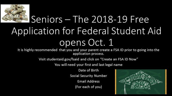 Financial Aid reminder