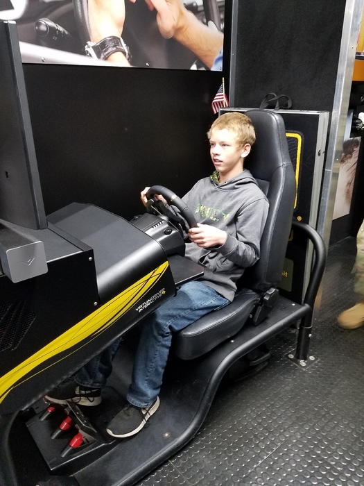 Distracted driving simulator
