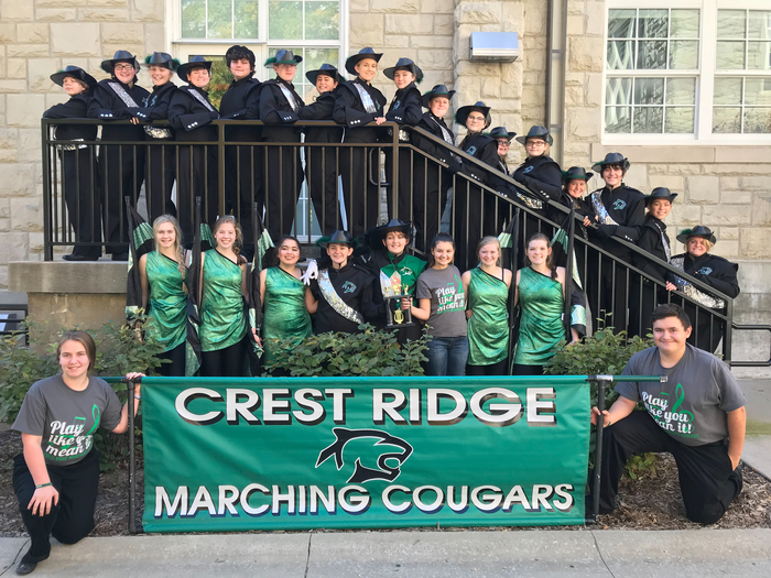 2018 Marching Cougars
