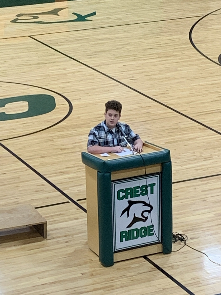 Woodsmen Speech