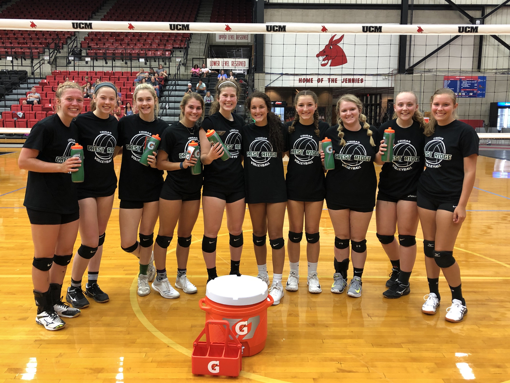 VB team camp champs