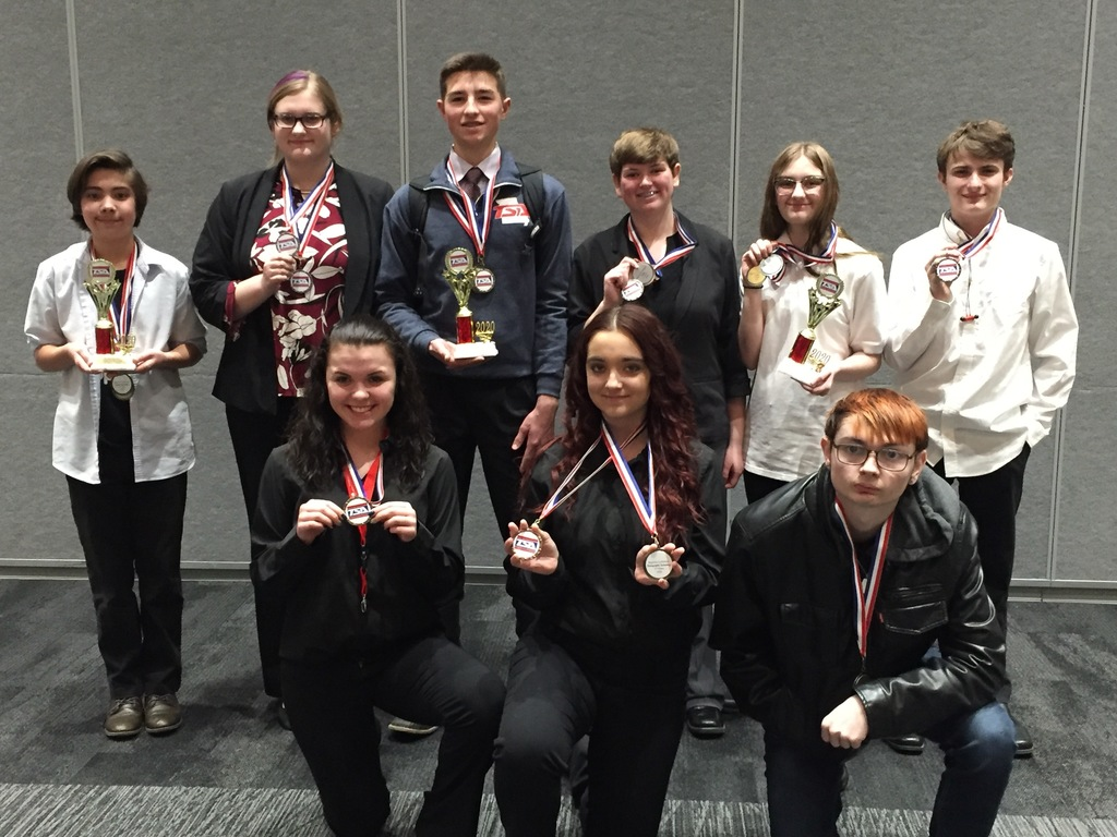 Competitors-Top row; Vlad Stone-Martin, Sadie Lehman, Wesley Marten, Kayla Vaughan, Shadow Winter, and Dakota Taylor. Lower row; Breanna Brandt, Paige Verdeja, and Cody McCune.